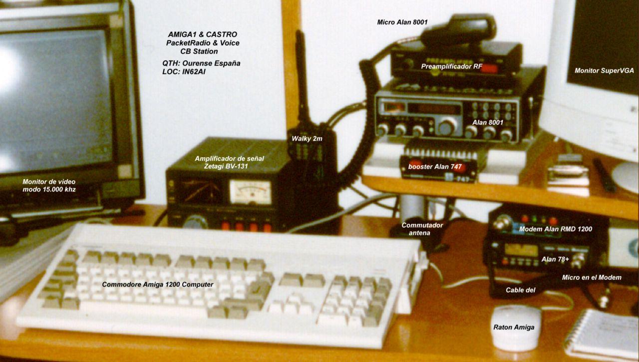 CB 27Mhz Packet-Radio Station