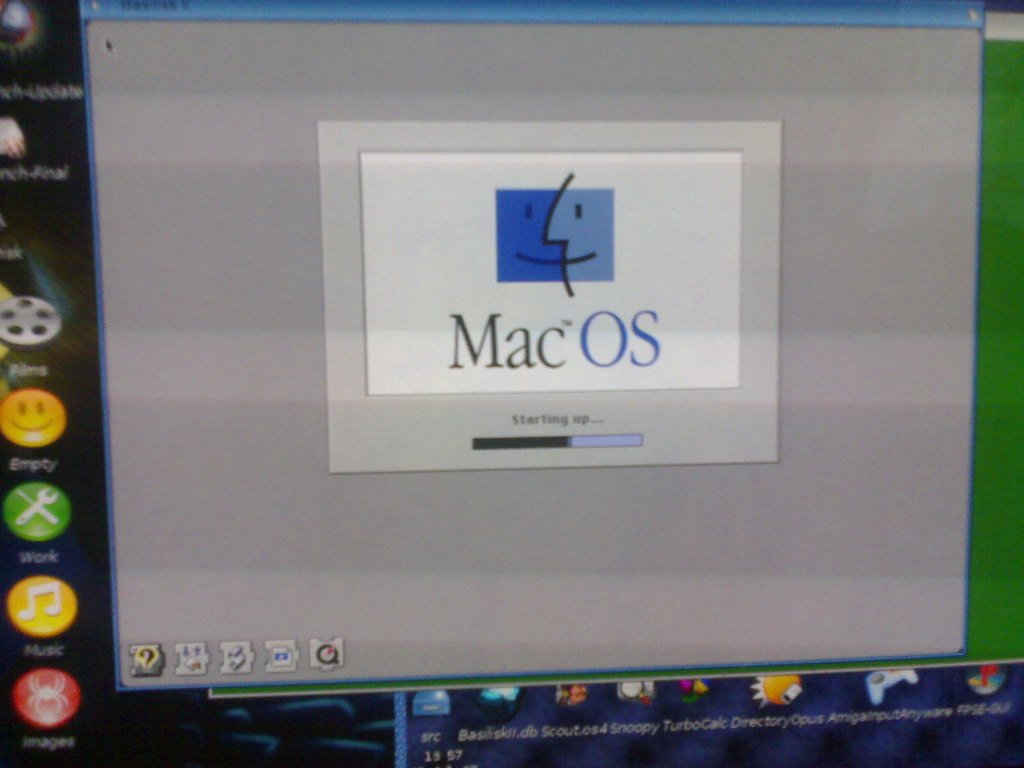 MacOS7.5.5 on AmigaOS4 image 2
