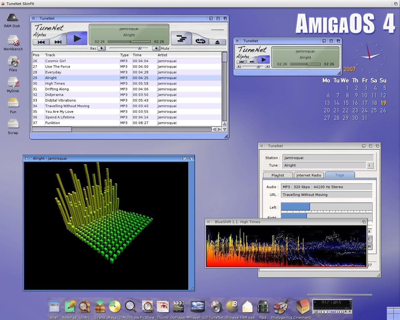 TuneNet Alpha Screen Shot