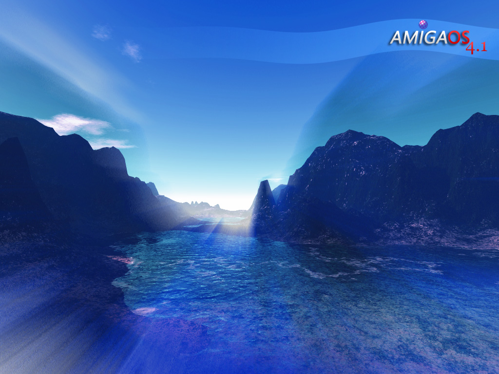 Terragen AmigaOS 4.1 Wallpaper