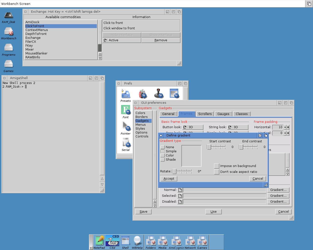 Retro-looking OS4.1 (OS3 style)