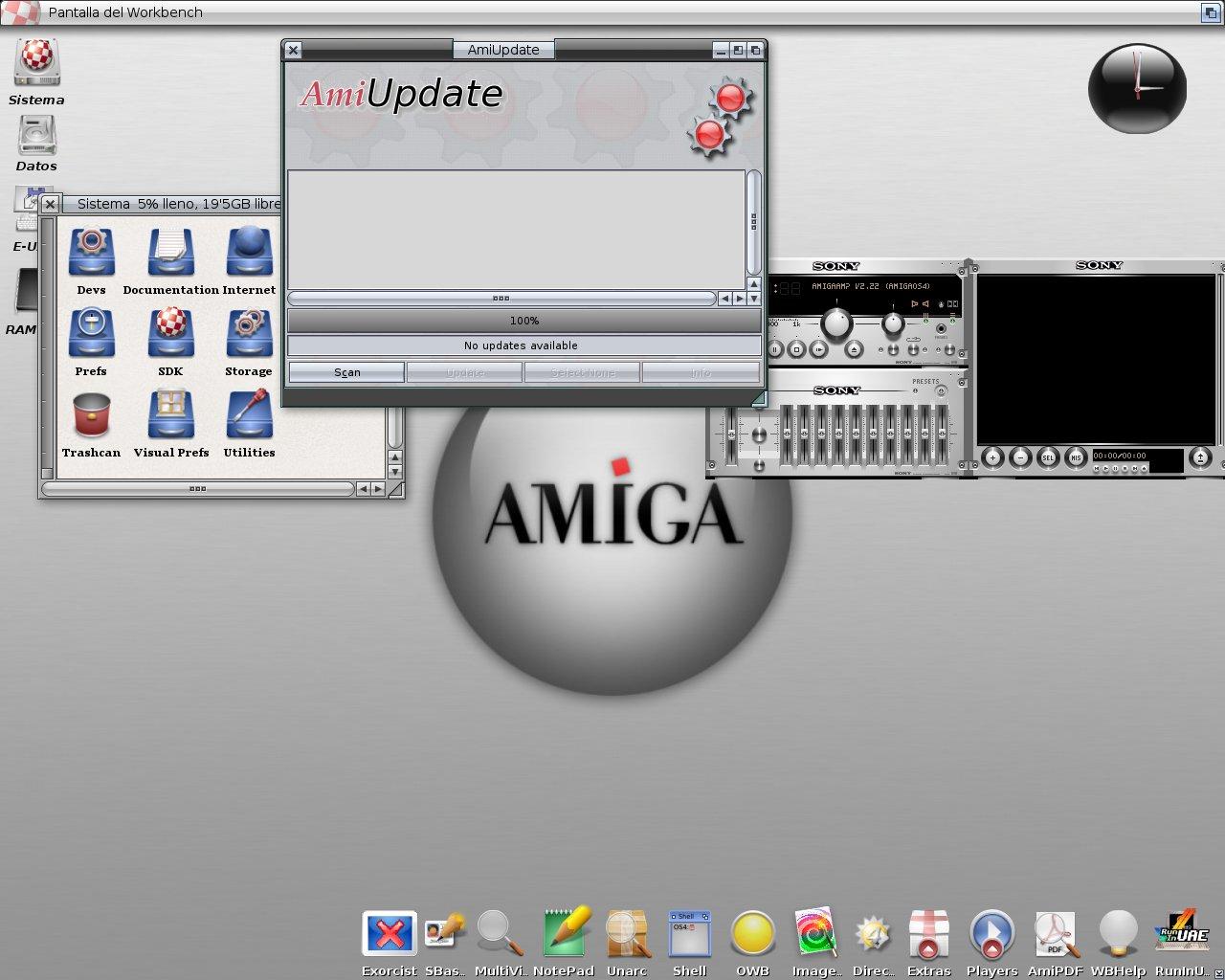 My OS4.1U2 in black