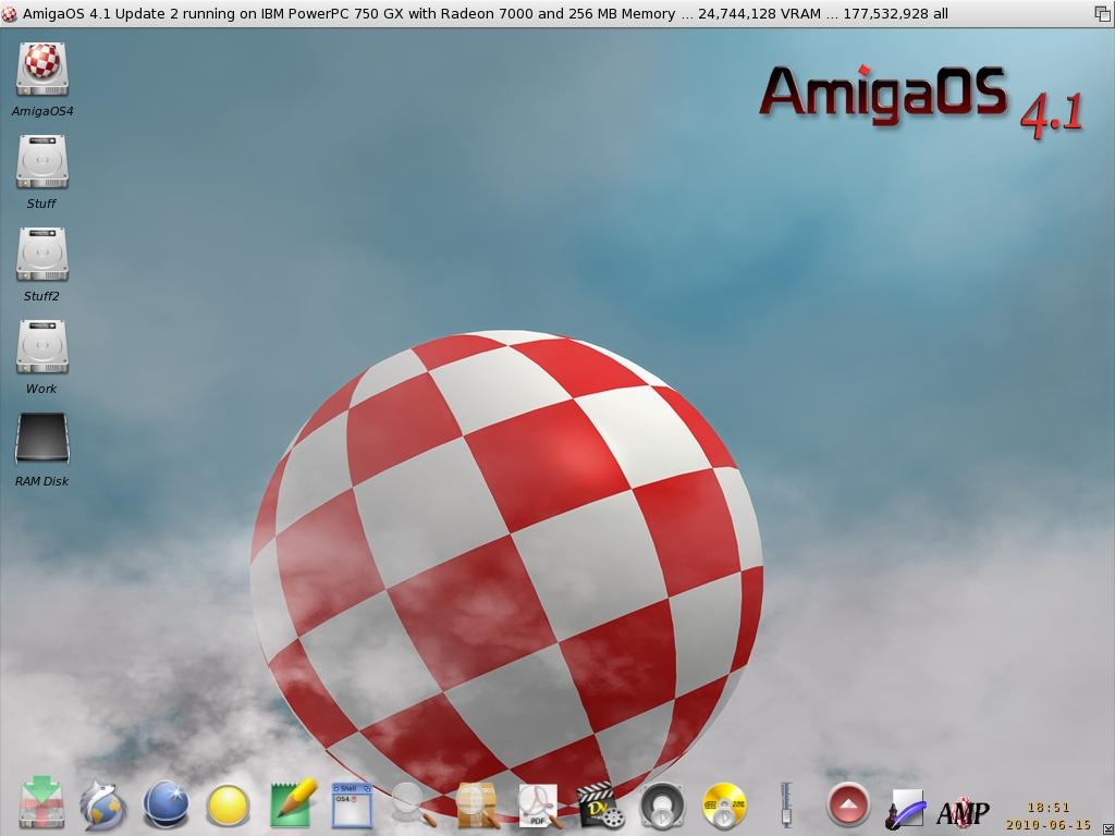 AmigaOS 4.1 Update 2