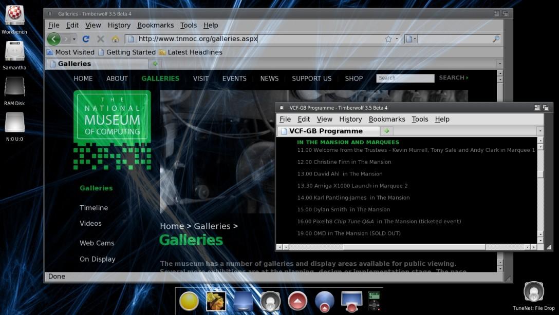AmigaOS 4.1.2 darkGray