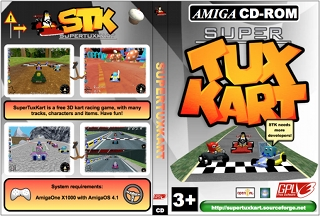 SuperTuxKart Amiga cover