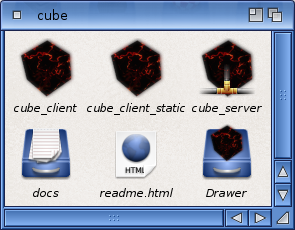 A quick and dirty icon work for cube...