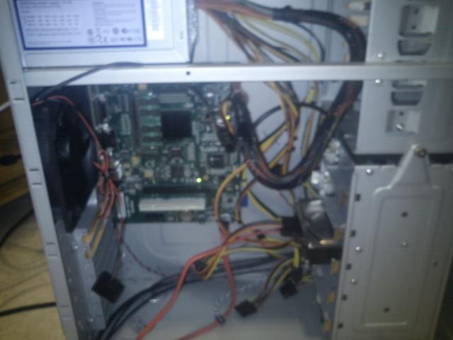 Sam460 in antec case