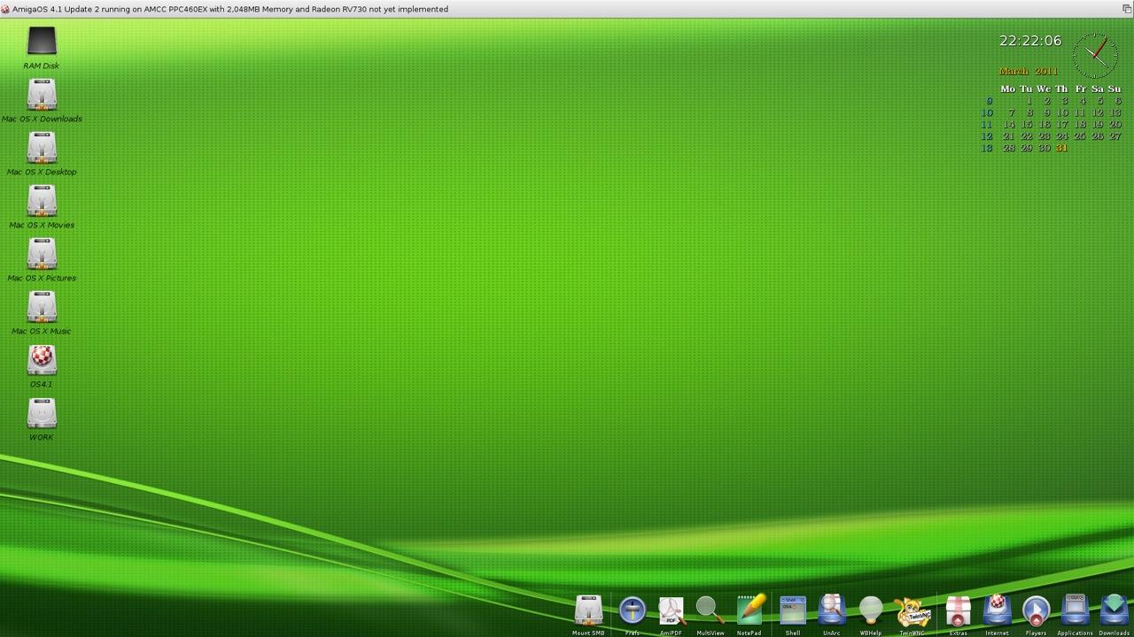 SAM 460ex AmigaOS 4.1 Workbench (15/44)