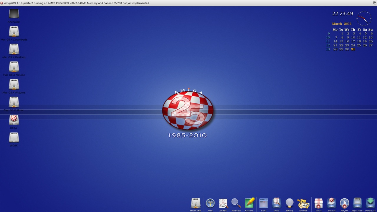 SAM 460ex AmigaOS 4.1 Workbench (17/44)