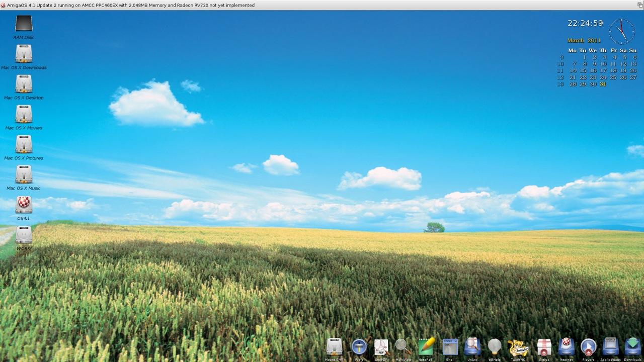 SAM 460ex AmigaOS 4.1 Workbench (27/44)