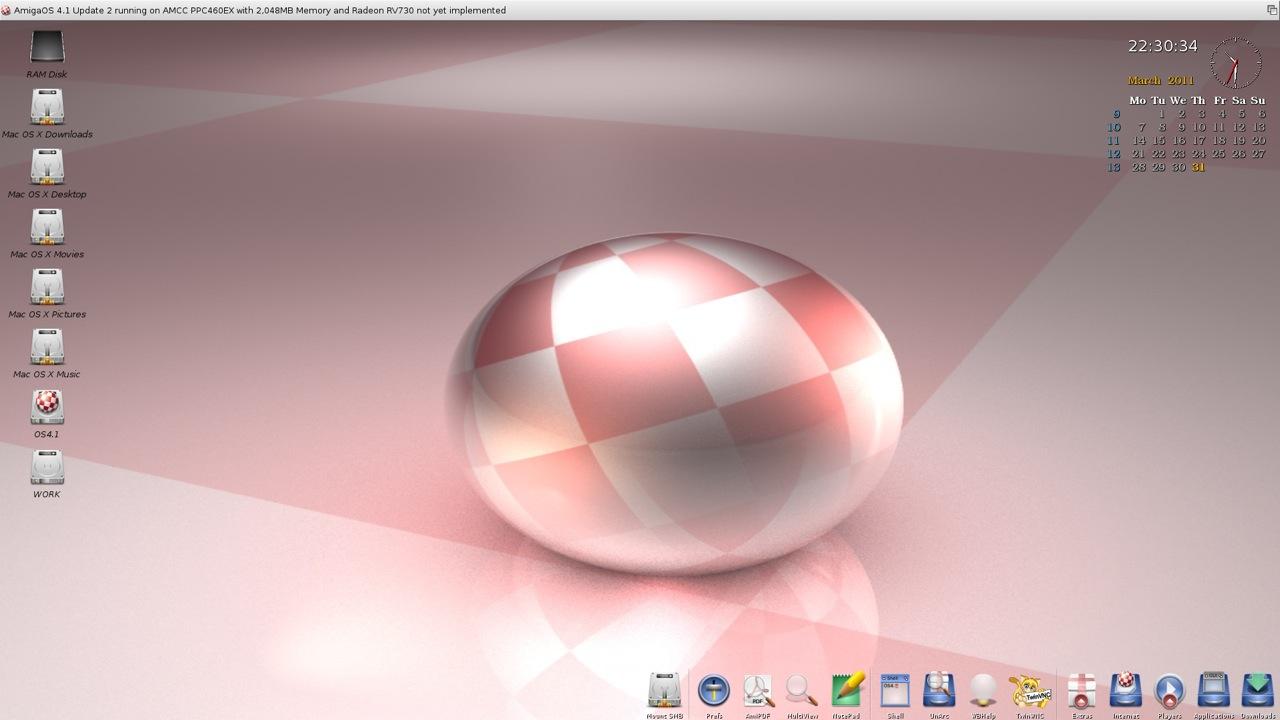SAM 460ex AmigaOS 4.1 Workbench (35/44)
