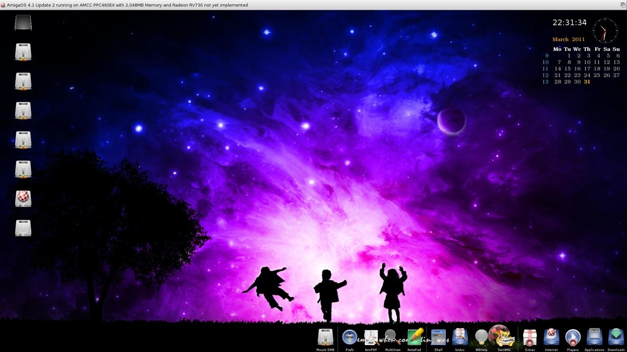 SAM 460ex AmigaOS 4.1 Workbench (37/44)
