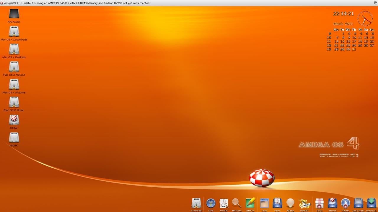 SAM 460ex AmigaOS 4.1 Workbench (39/44)