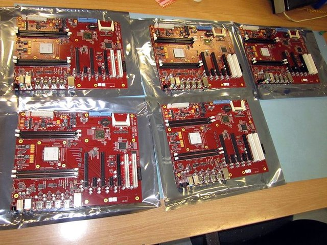 some x1000 boards doin a party