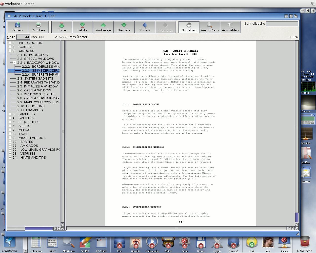Amiga C Manual