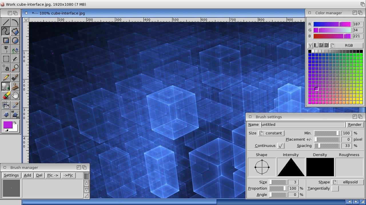 ArtEffect v4.0 running under OS4.1u3