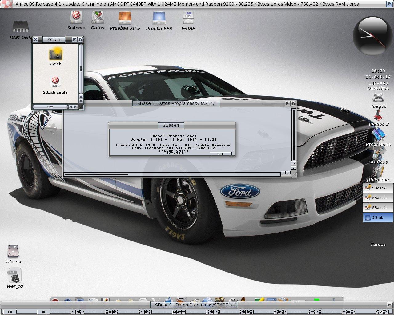 Superbase Pro 4 en OS4.1