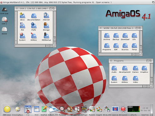 AmigaOS 4.1 U1 - Almost Default look