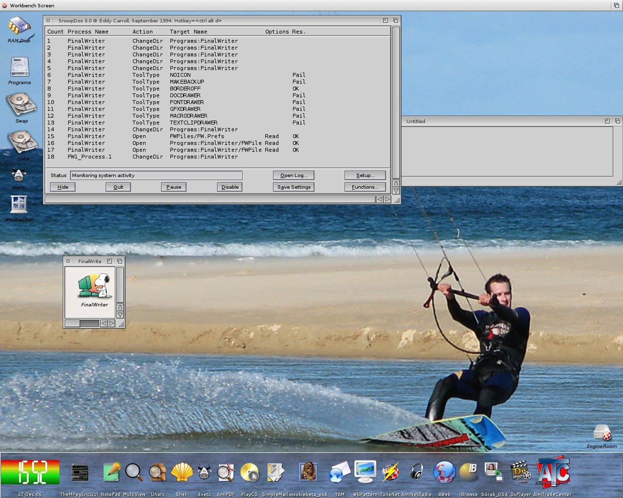 My Os4 Final Screenshot