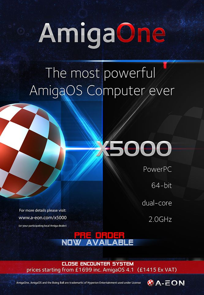 AmigaOne X5000 Ad/Poster