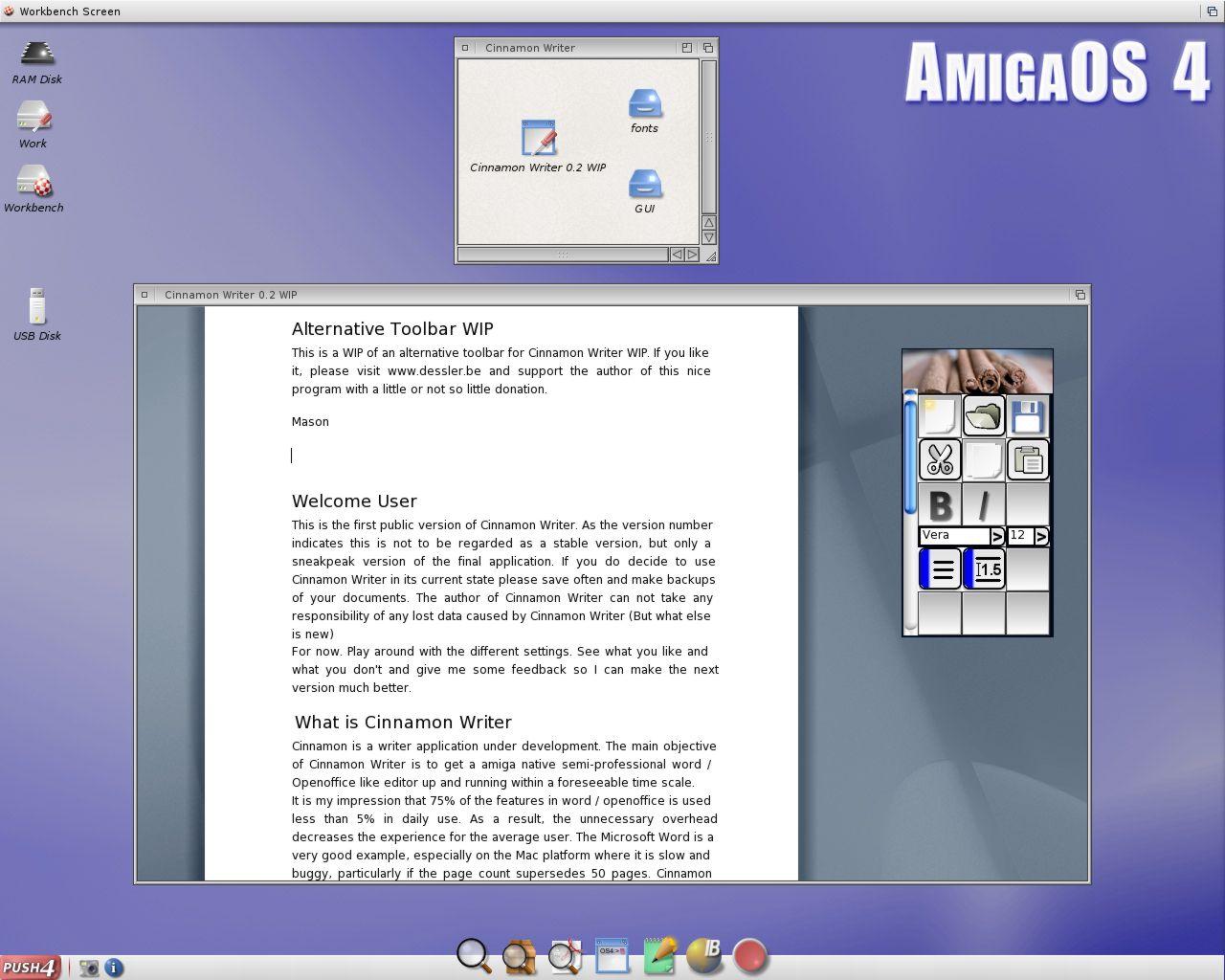 Cinnemon Writer WIP Masonicons Toolbar WIP