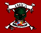 Amiga skull chewing on Microsoft